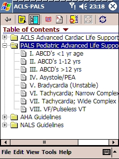 Skyscape ACLS-PALS