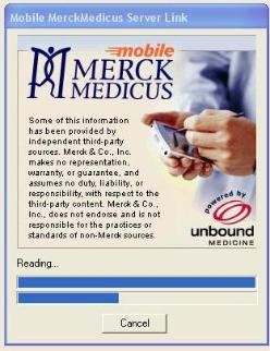 Merck Medicus Update Progress